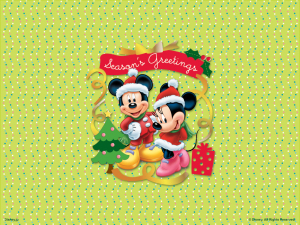 mickey merry christmas SYvf